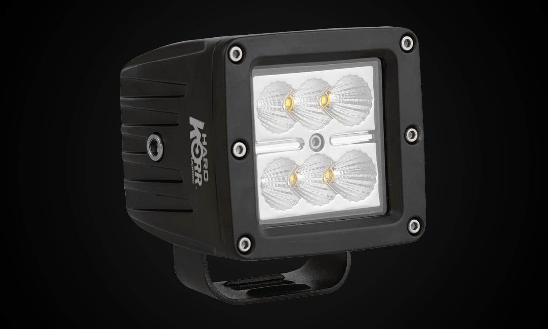 Hard Korr HK18W 4x4 Square LED Flood Light
