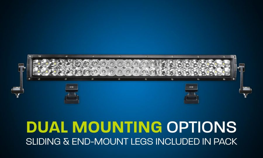 LED light bar dual row 22 inch combo beam
