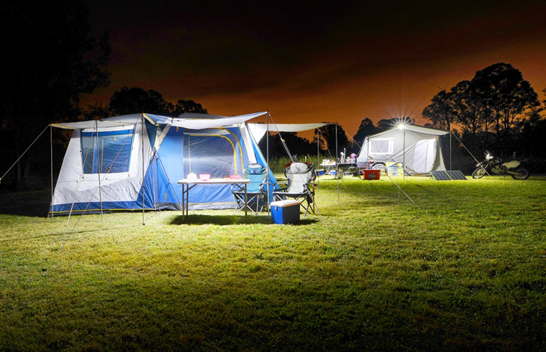 lightweight solar terrain lighting lights camping up wild blow