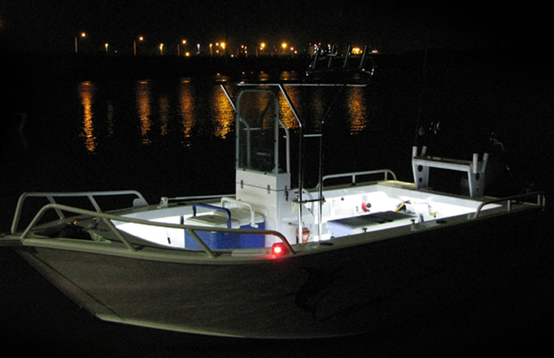 led boat light kit blue white hard korr usa. Black Bedroom Furniture Sets. Home Design Ideas