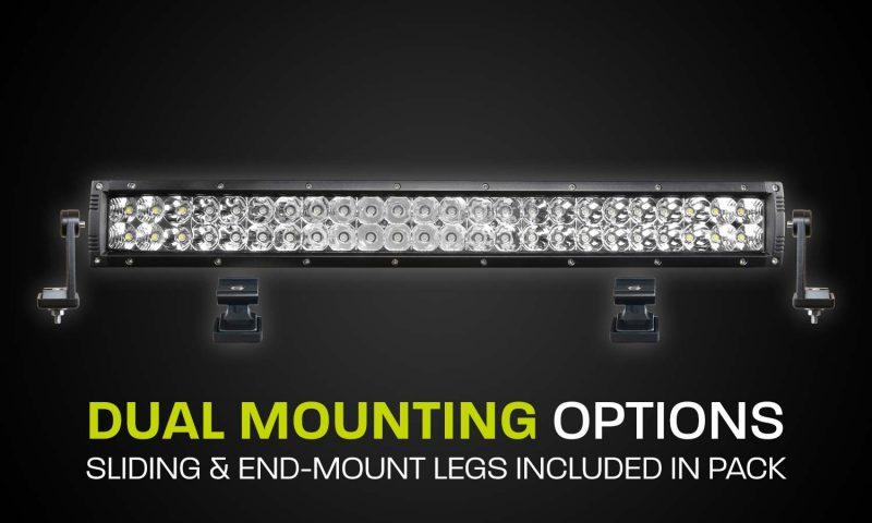 Dual Row LED Light Bar Hard Korr XDD550-G3