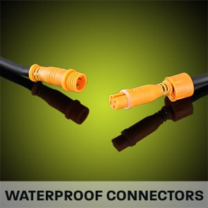 Hard Korr camping light bars have waterproof locking connectors